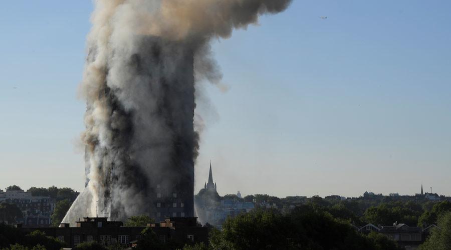 Hants Fire & Rescue Release Statement Following Tower Block Fire in West London