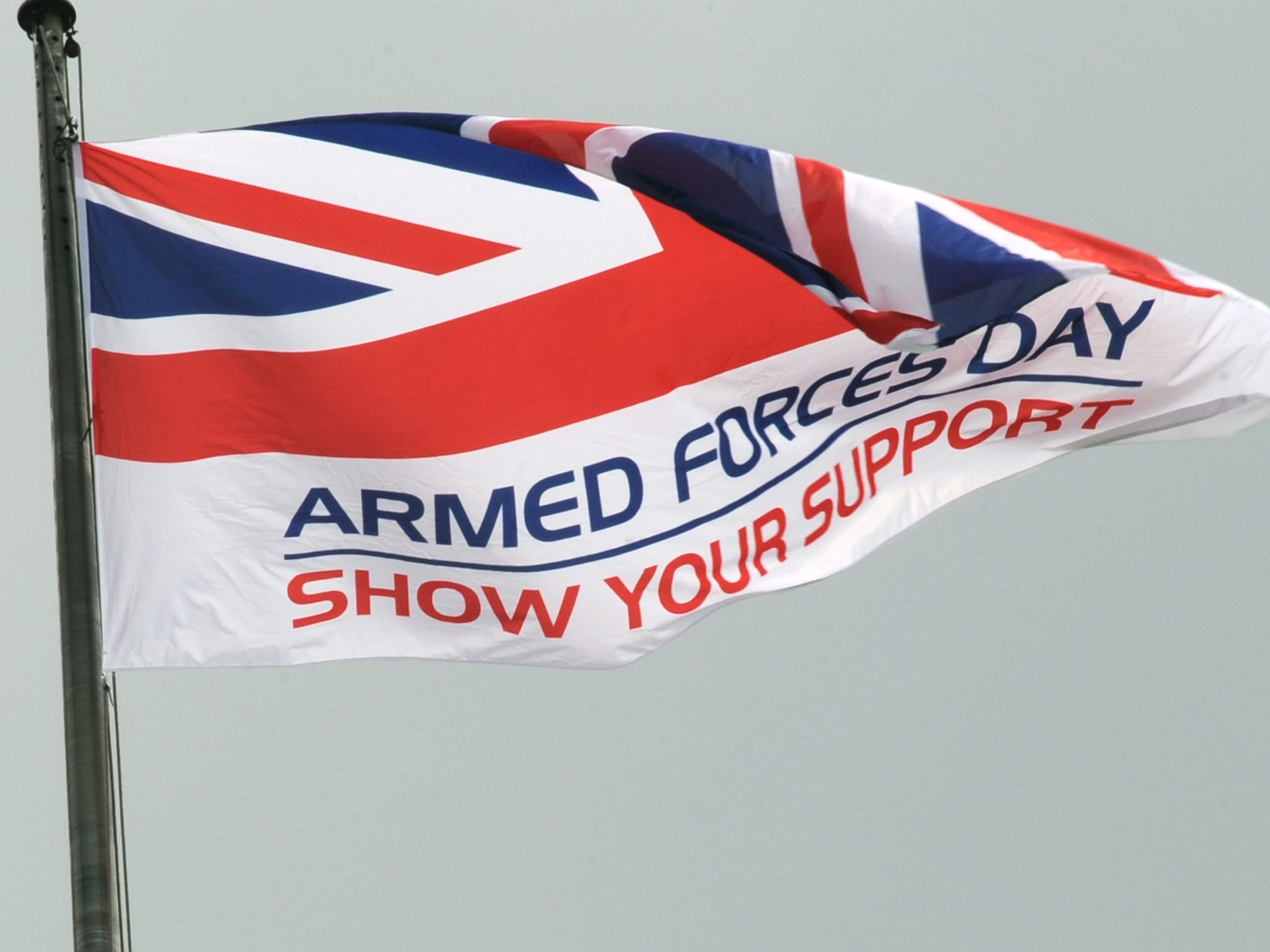 Andover News | Hampshire prepares to celebrate Armed Forces at annual flag raising ceremony | Andover & Villages
