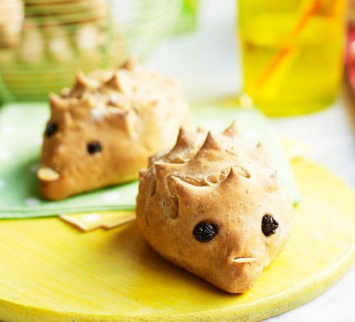summer fun hedgehog rolls