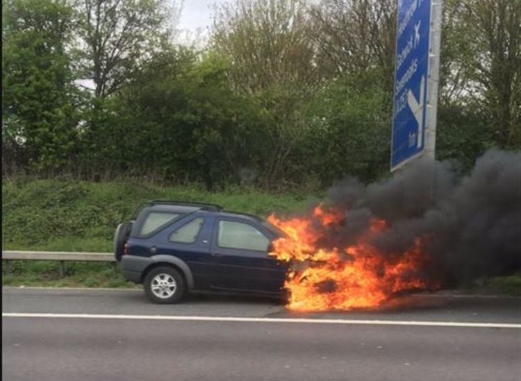Andover Motor News | Do You Know What To Do In The Event Of A Car Fire?