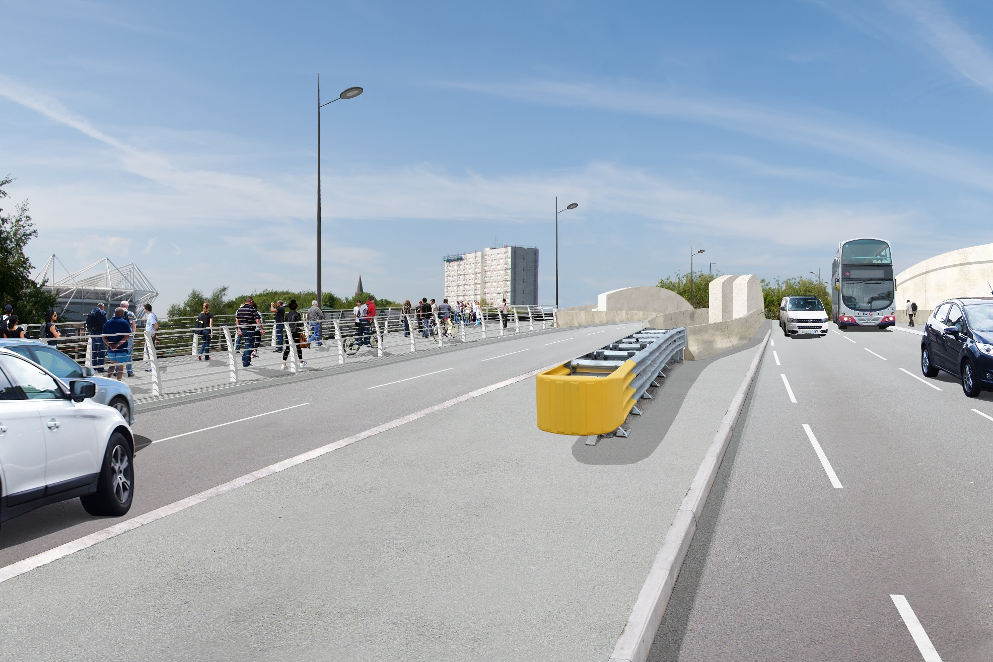 Hampshire News | Plans to improve journeys for road users into Southampton go on show today