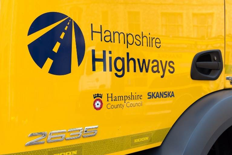 Traffic News | Hampshire Highways Working Hard through Storm Eleanor | Andover & Villages