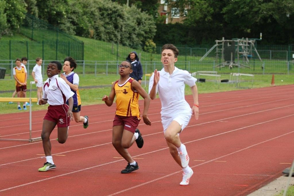 Local School Compete Against Best Athletes