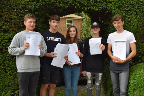 Rookwood Pupils Celebrate as GCSE Results Released