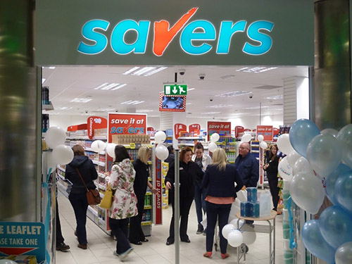 Savers Comes to Andover High Street