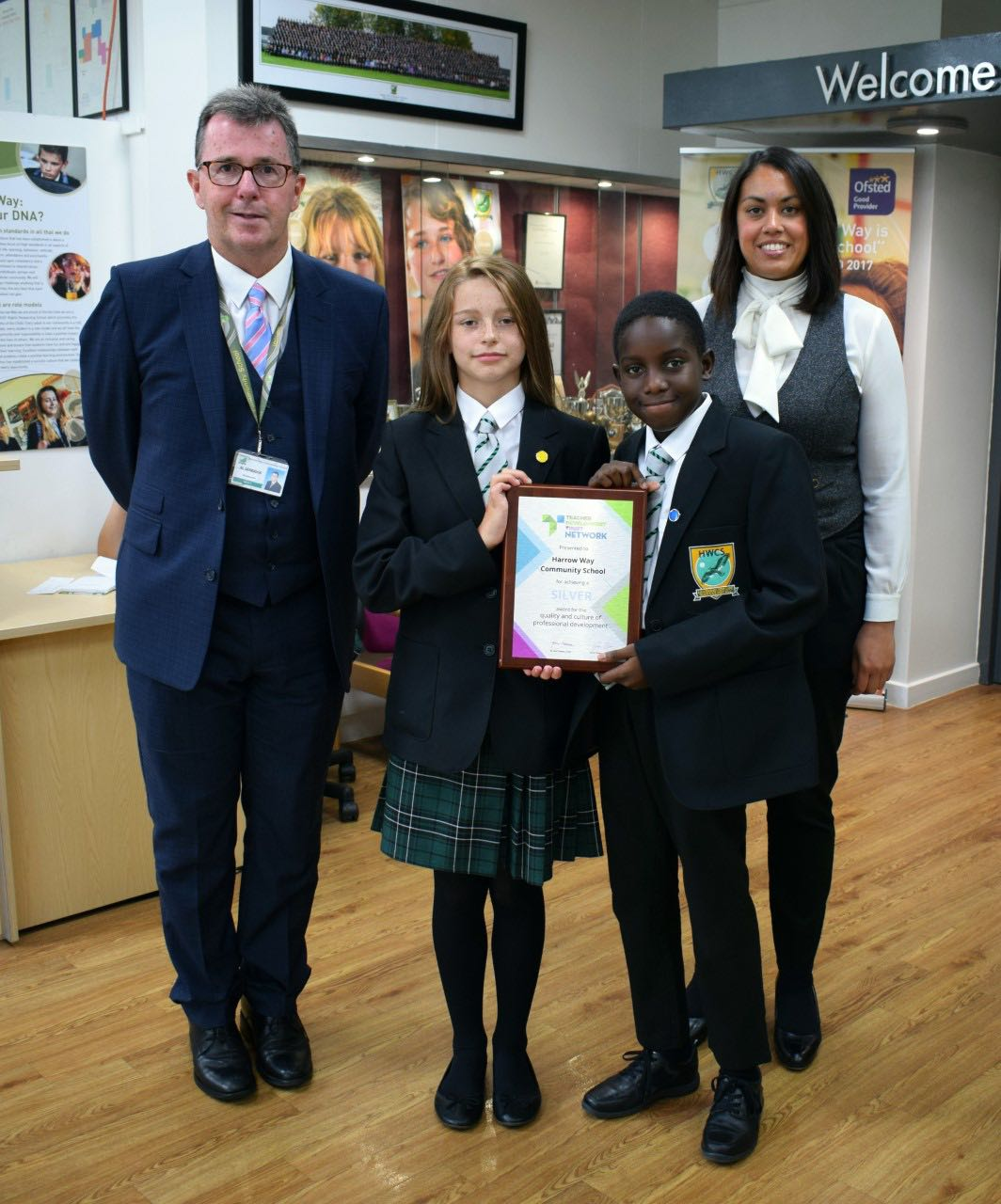 Harrow Way Presented with Silver Award