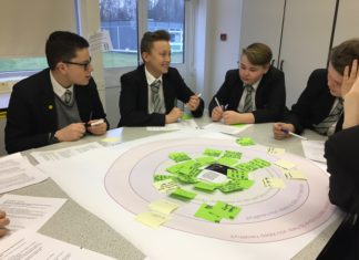 Harrow Way Students give their Vision for Andover