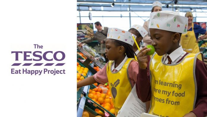Andover Tesco eat happy project