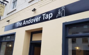 The Andover Tap bar