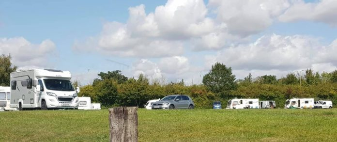 Andover travellers saxon field