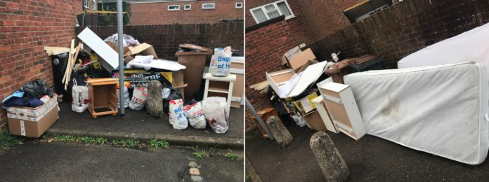 Andover fly-tipping