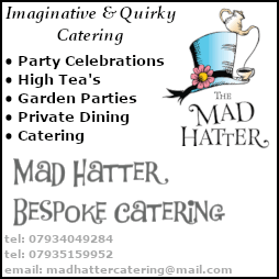 Proudly Sponsored by Mad Hatter Catering