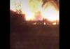Tidworth Station road fire