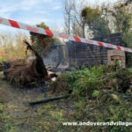 Allotment fire whitchurch