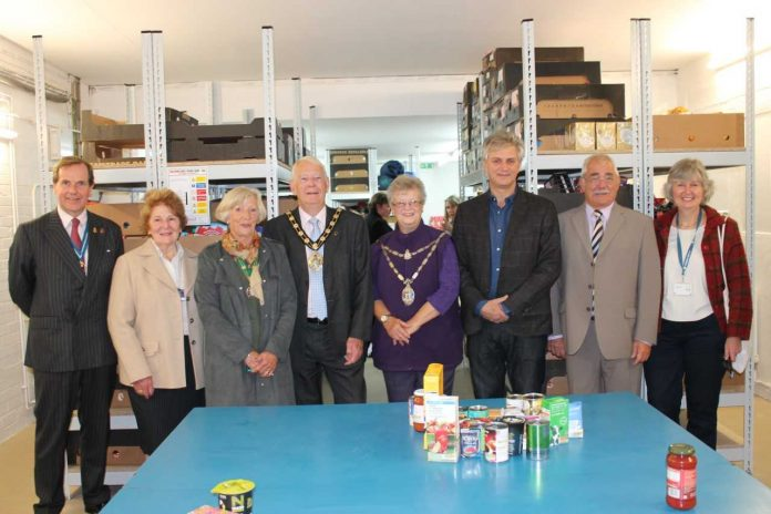 Foodbank Benefits from £25,000 Funding