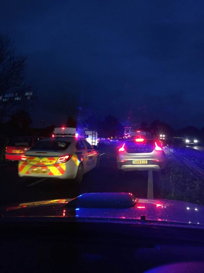 Fatal collision on A303
