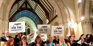 Andover Bin The Incinerator Choir