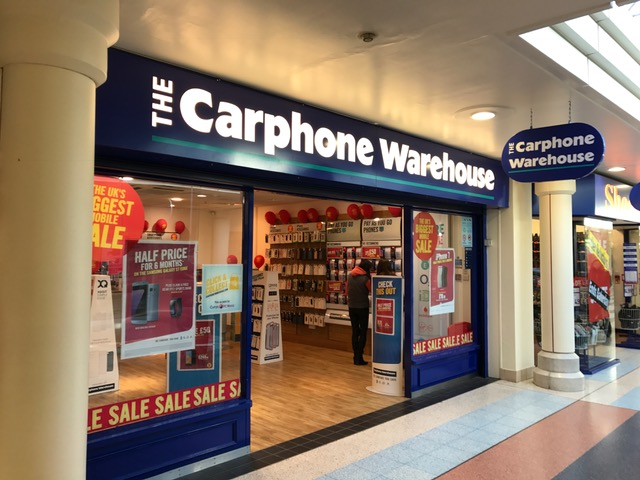 Andover carphone warehouse