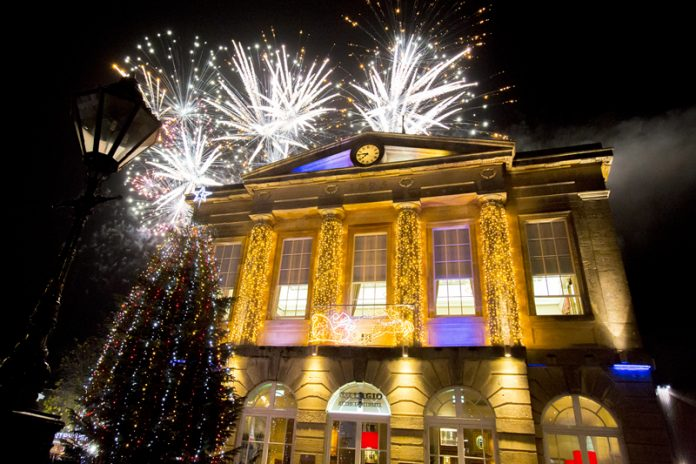 Andover Christmas Light Switch on