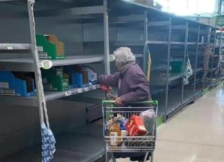 Coronavirus Andover Shopping Hits the Elderly