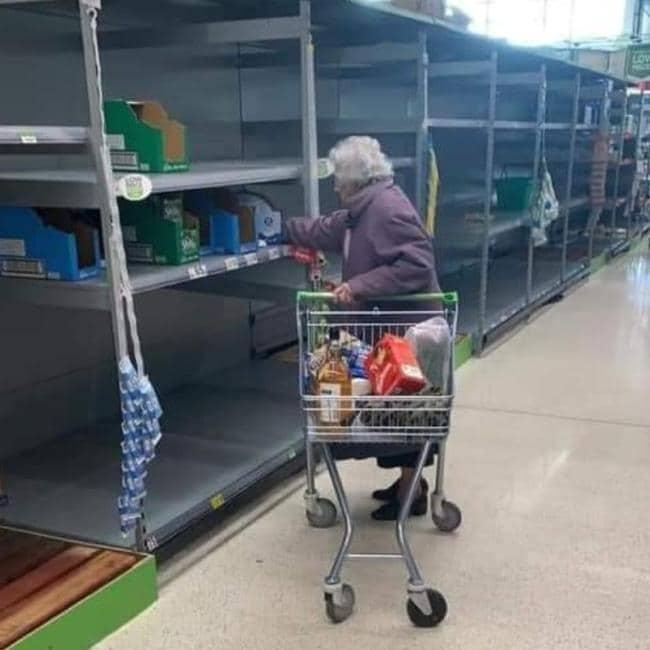 Coronavirus Andover Shopping Hits the Elderly