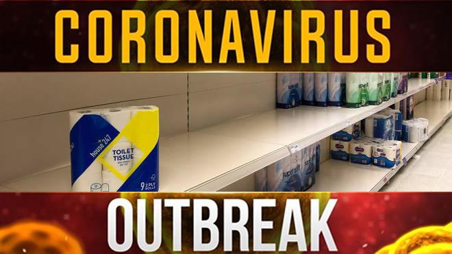 andover coronavirus panic buying