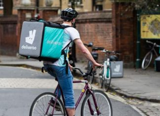 Deliveroo in Andover
