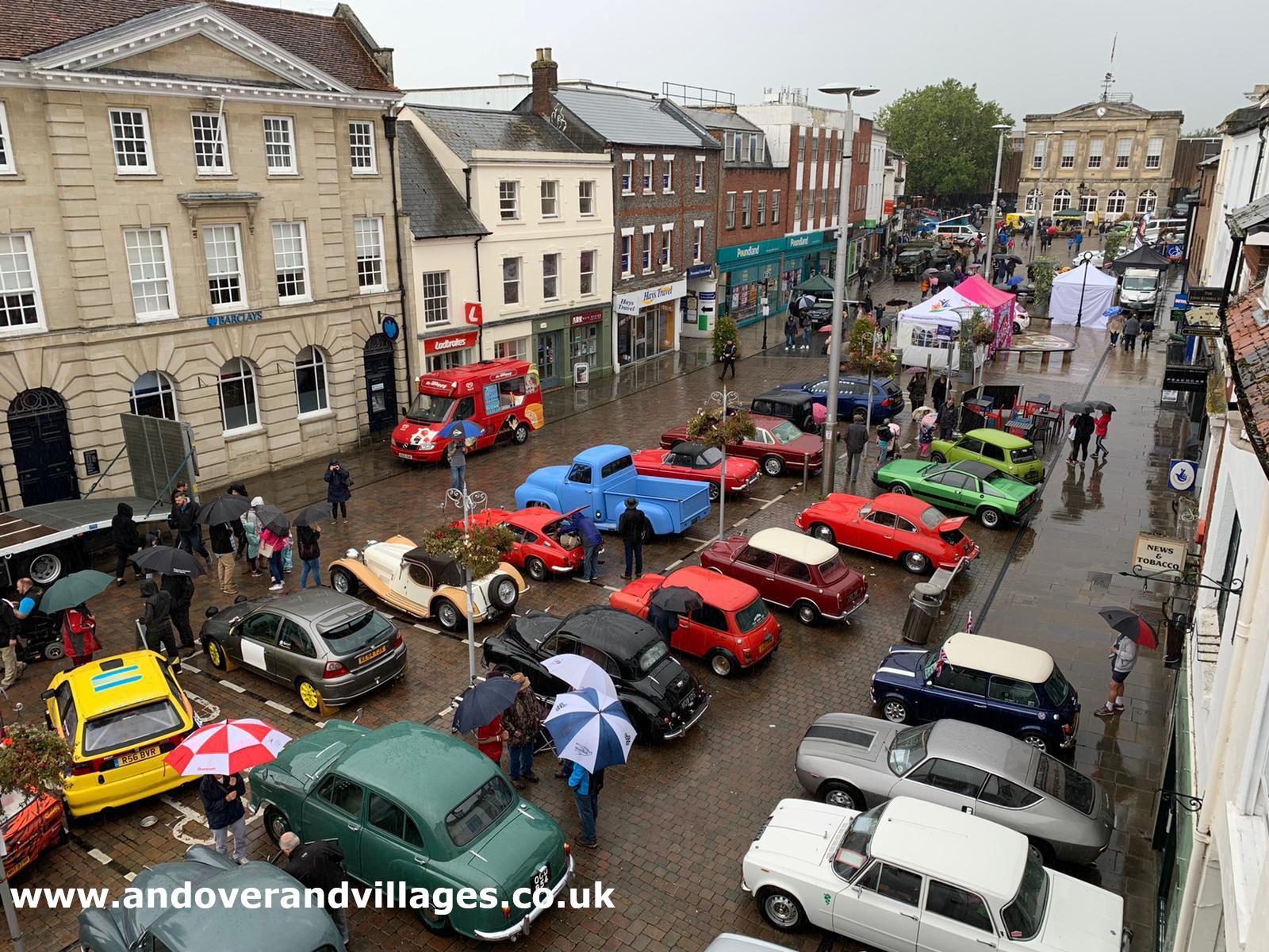 Fabulous Festival Of Motoring Returns To Andover High Street