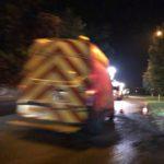 Gas leak in Andover