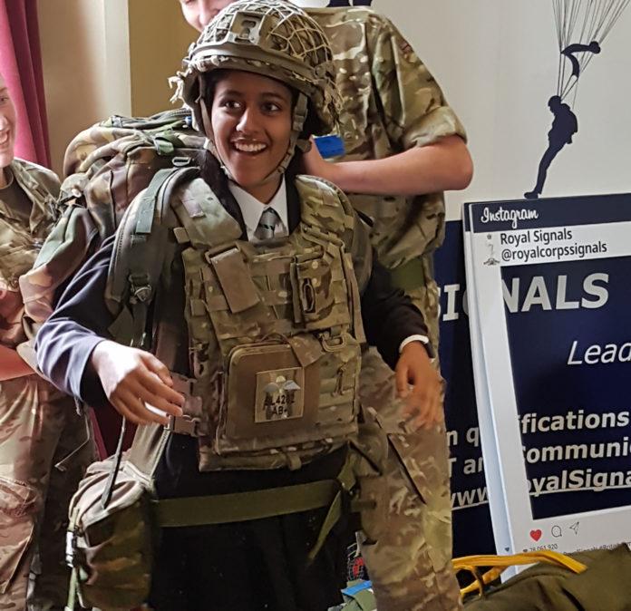 Harrow Way Army Training Day
