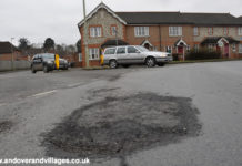 Andover & Villages Pot holes