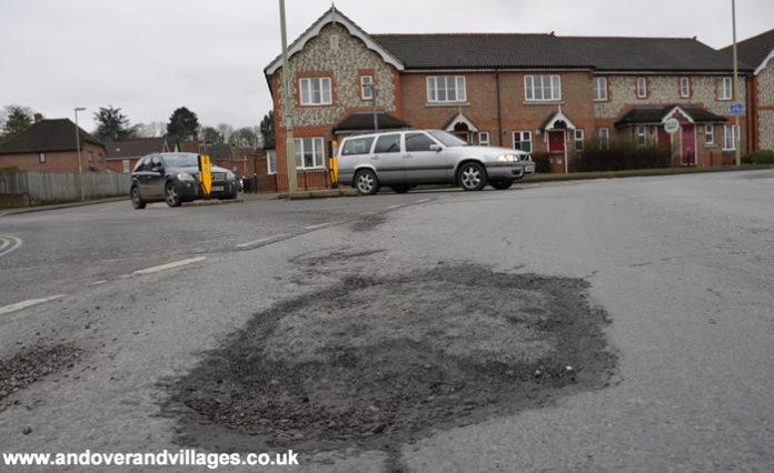Andover & Villages Pot holes