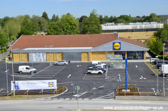 Andover Western Avenue Lidl