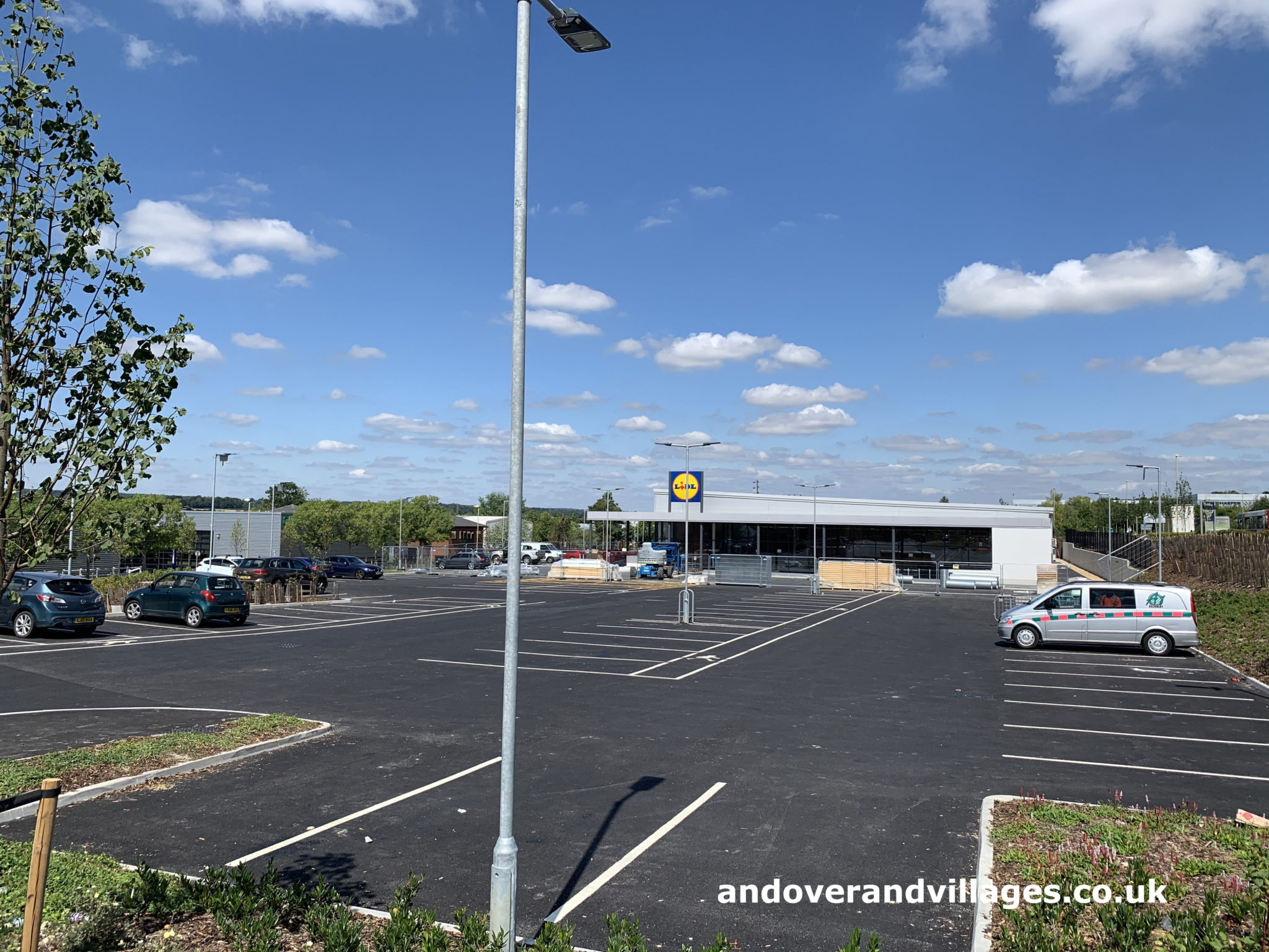 Starbucks, Lidl and Greggs Walworth Business Park