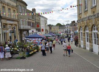 Andover market High Street