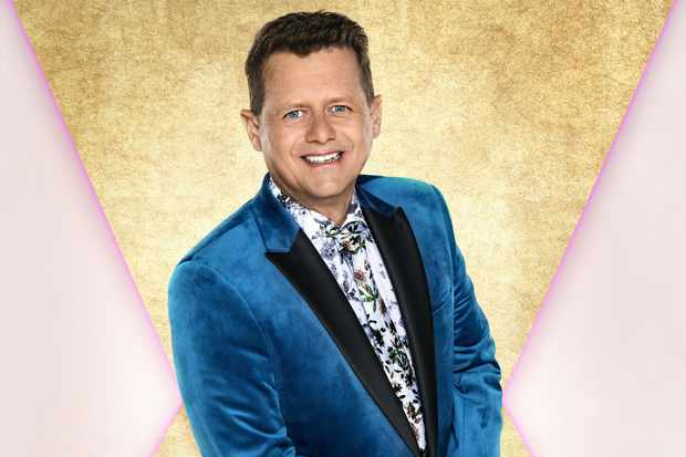 Mike Bushhell Perform on Strictly Come Dancing
