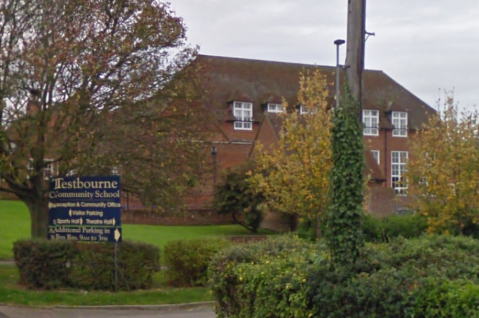 Andover Testbourne School in Whitchurch
