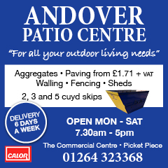 Andover Advertising with Andover Patio