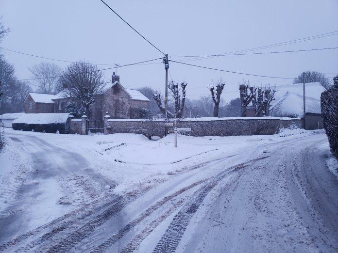 Andover snow