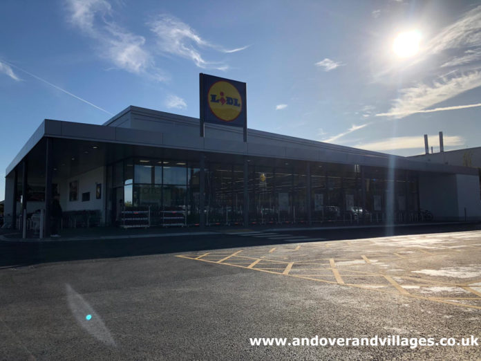 Lidl Andover new store