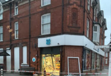 Andover Whitchurch Co-Op Ram Raided