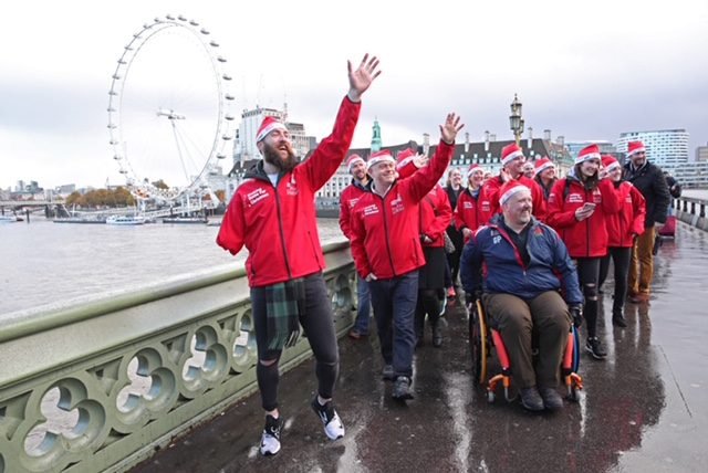 WALKING WITH THE WOUNDED & HELP FOR HEROES JOIN FORCES TO LAUNCH WALKING HOME