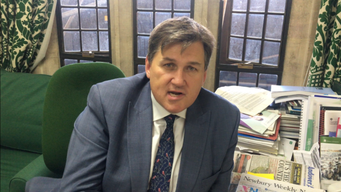 Kit Malthouse MP joins Andover veterans