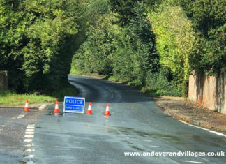 Hurstbourne Priors B3400 crash