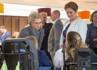 Royalty Visits Enham Trust