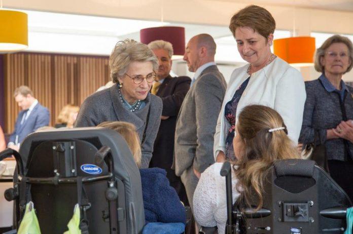 Royalty Visits Enham Trust