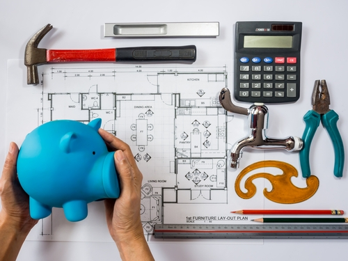 How to do a home renovation on a budget