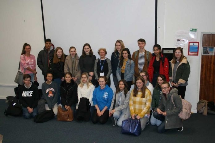 Symonds welcomes Holocaust Survivor Susan Pollack
