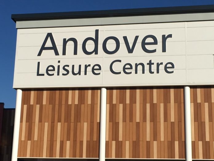 Andover Leisure Centre finished