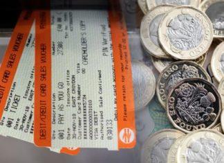 Train fares rise January 2020